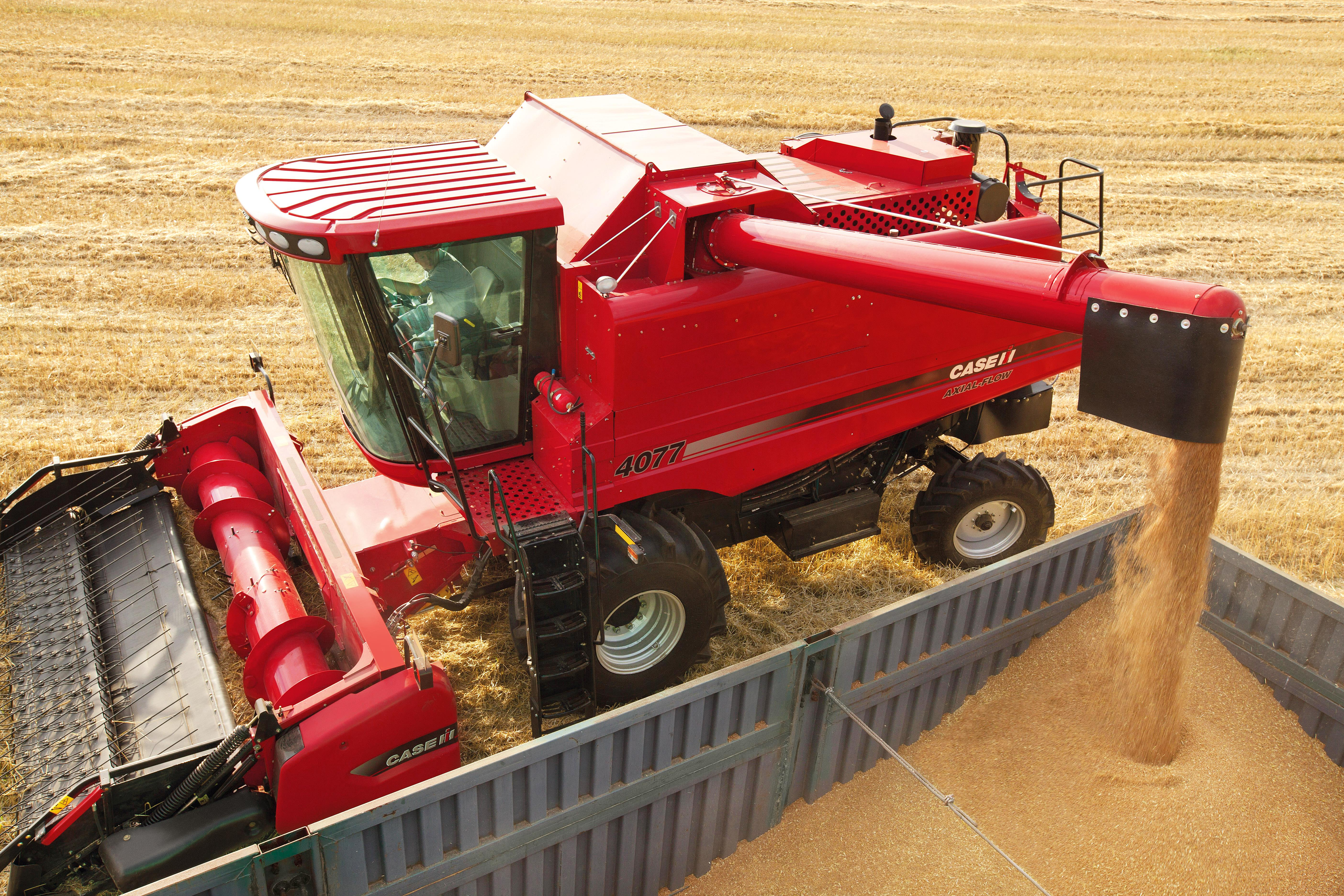 Case IH's triple combine assault on the Middle East