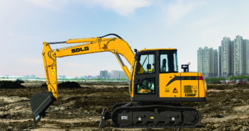 SDLG launches two mini excavators to Indonesian market