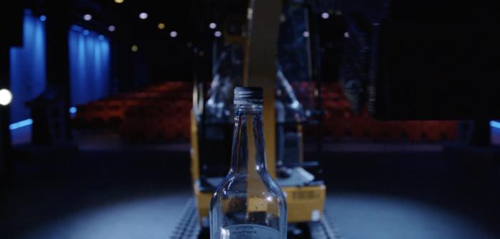 JCB does the bottle cap challenge