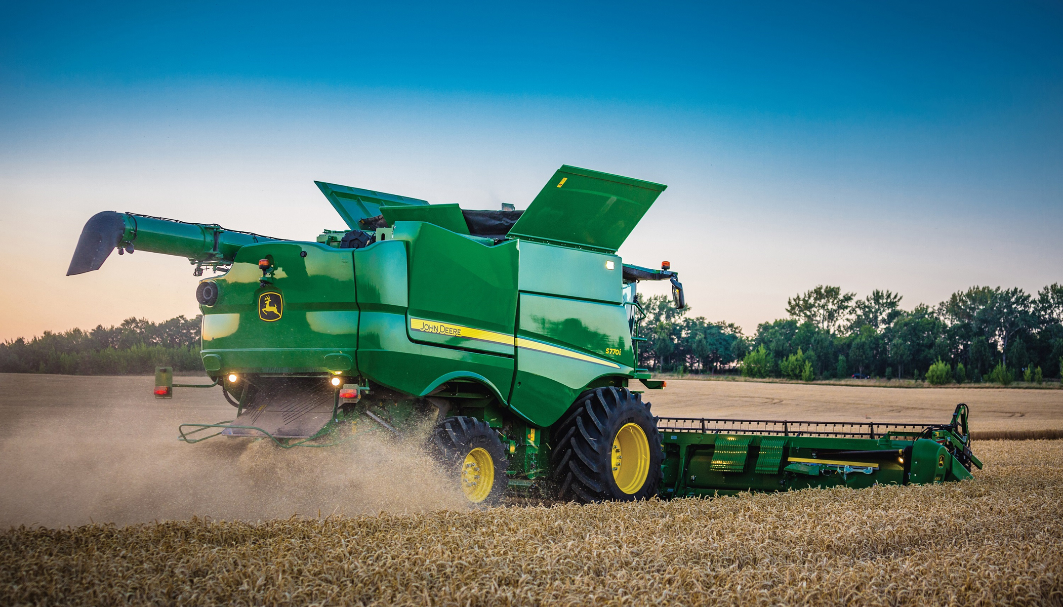 John Deere upgrades its combines | Industrial Vehicle