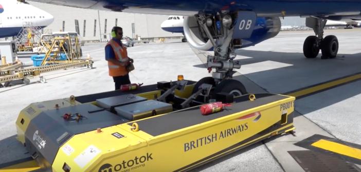 British Airways' Mototok tug milestone