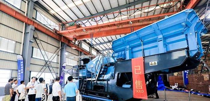 Metso aims at China with mobile crusher launch