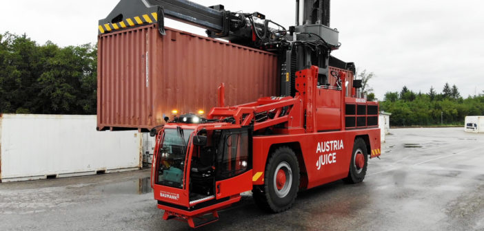 Baumann launches largest sideloader ever constructed