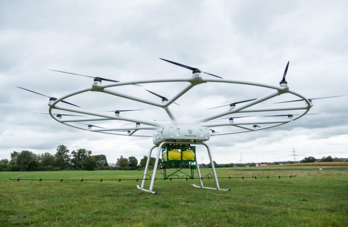 The drone sprayer with big Drone frame payload 200KG