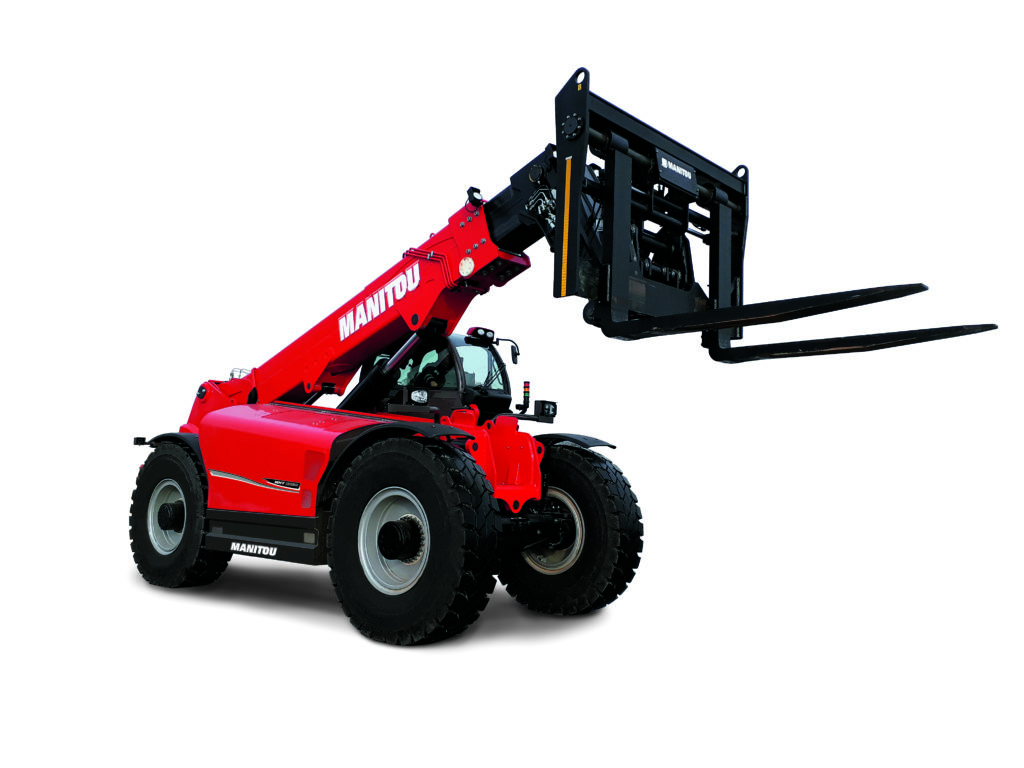 Manitou releases 80000-pound capacity telehandler - Industrial Vehicle Technology International