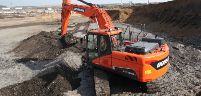 Doosan crawler excavators land award double
