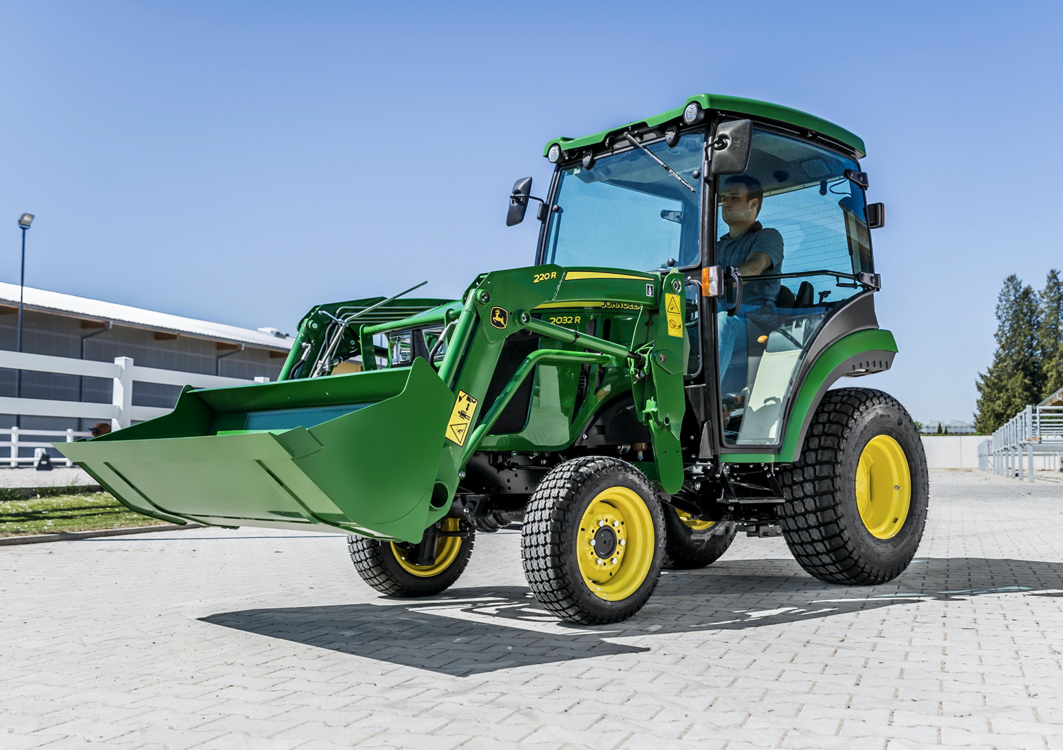 John Deere updates compact tractor range | Industrial Vehicle Technology International