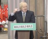 Johnson pledges construction investment in 'New Deal' speech