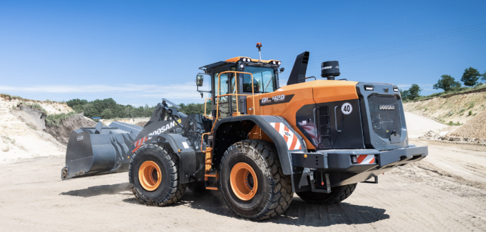Doosan launches new Stage V wheel loader