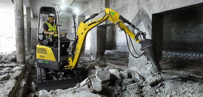 Wacker Neuson launches new electric mini-excavator EZ17e