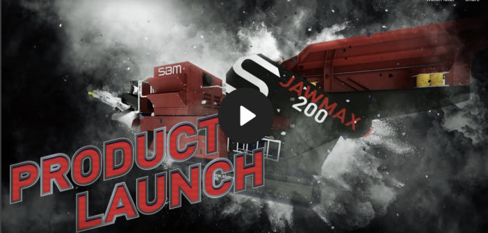 VIDEO: launch of new mobile crusher Jawmax