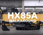 VIDEO: the new compact Hyundai HX85A midi excavator