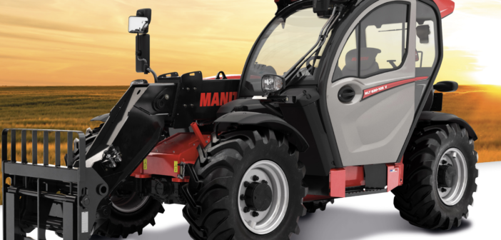 Manitou chooses Bosch Rexroth for electronic transmission of agricultural telehandler