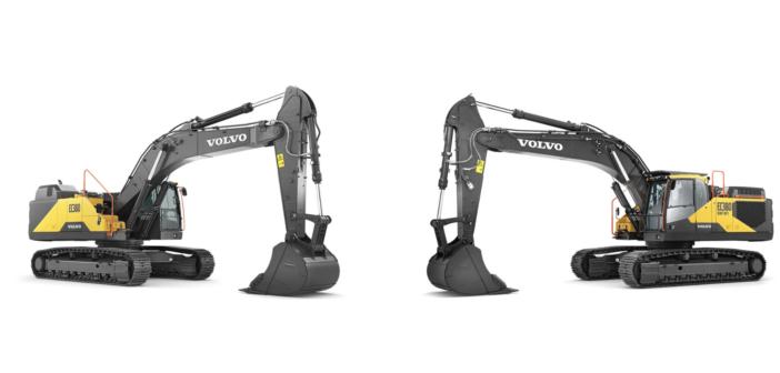 Volvo unveils excavators and electromobility pilots at Bauma China