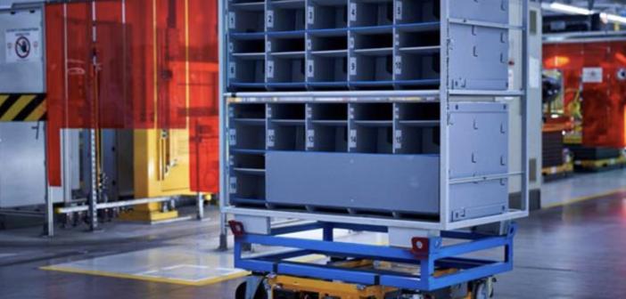 BMW enters logistics arena with autonomous robots