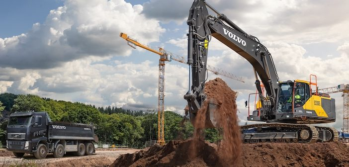 Volvo launches new 35-tonne excavator – EC350E – strengthening its mid-size range