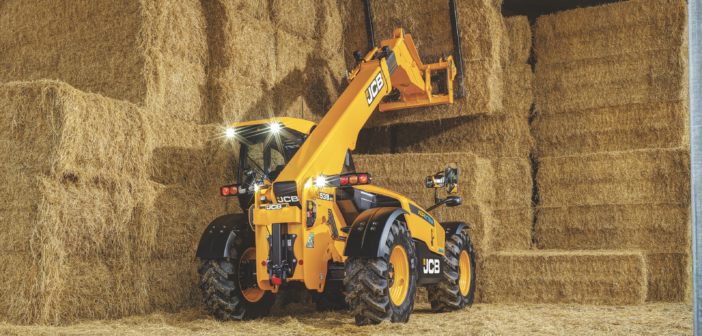 JCB offers extra power on new Loadall models