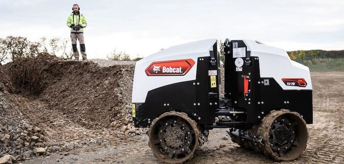 Bobcat offers up new Light Compaction product range