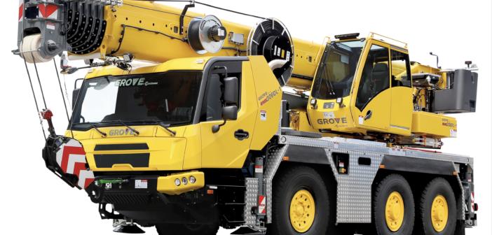 Manitowoc to exhibit latest Grove crane range at next week's JDL