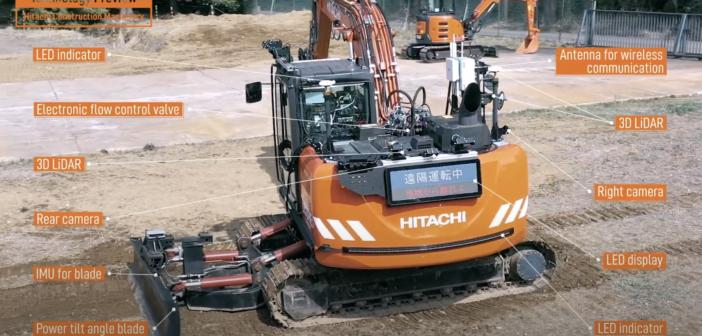 VIDEO: Hitachi previews ZCore platform for autonomous construction equipment