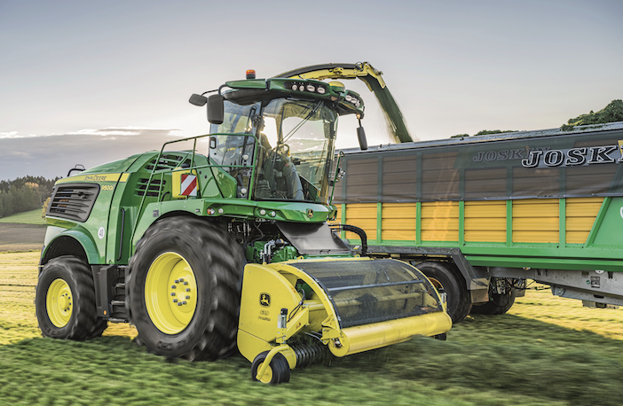 New John Deere engine powers latest foragers | Industrial Vehicle Technology International