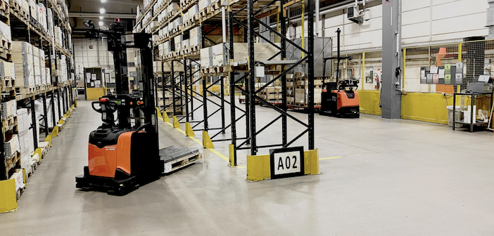 """Forklift operator crisis """"helping drive up"""" sales of automated handling solutions"""