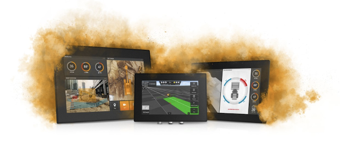 CrossControl offers new displays with iMX8 application processor