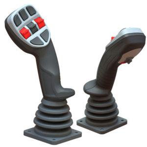 Curtiss Wright Hi joystick group