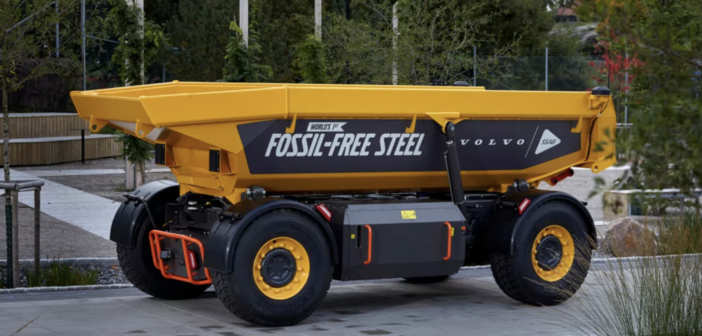 VIDEO: Volvo CE launches world's first fossil-free steel vehicle